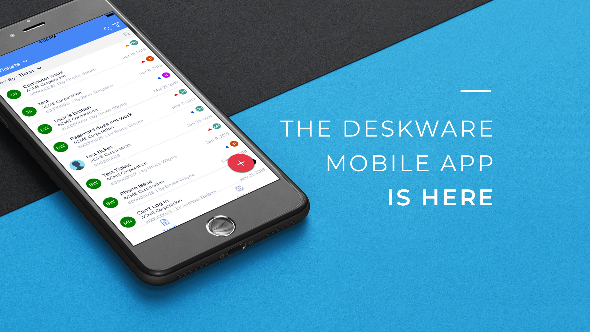 The Deskware Mobile App Is Here