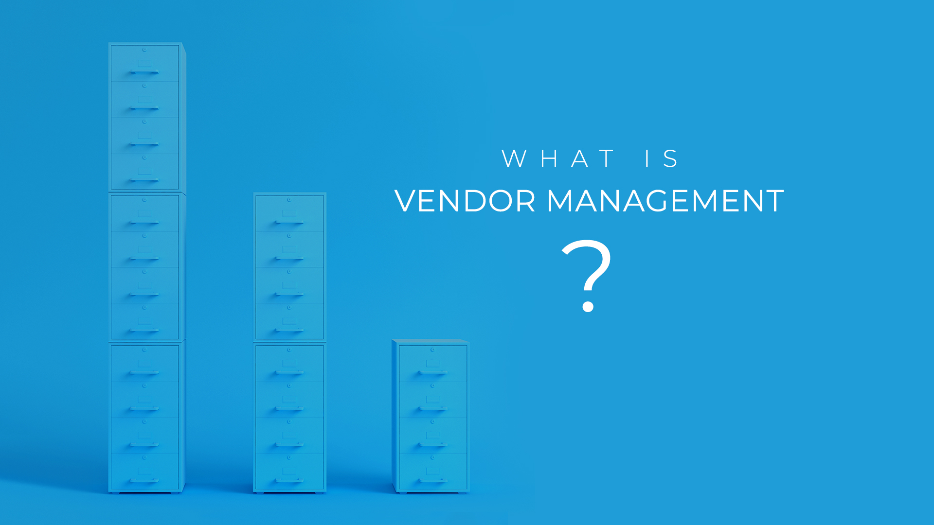 What Is Vendor Management?
